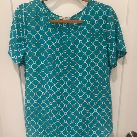 Pleione Tops - Pleione short sleeve blouse